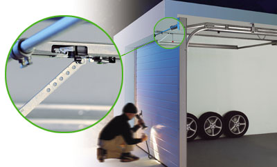 MOTORISATION DE PORTE DE GARAGE - Comment securiser une porte de garage sectionnelle
