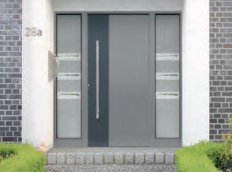 Porte d 39 entree aluminium e design for Fenetre ral 9007