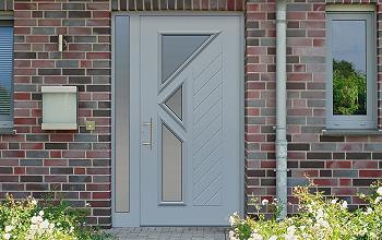 Porte d 39 entree aluminium matisse for Fenetre ral 9006