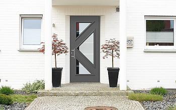 Porte d 39 entree aluminium matisse for Tringle porte d entree