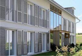 volets aluminium coulissants pliables. Black Bedroom Furniture Sets. Home Design Ideas